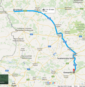 Road to Kremenets